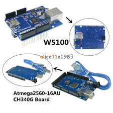 Ethernet Shield W5100 Atmega2560-16AU Mega2560 UNO R3 CH340G Board For Arduino