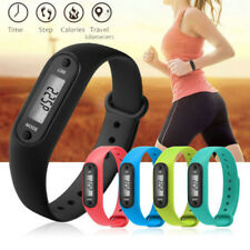 LCD Run Step Sport  Watch Pedometer Calorie Counter Digital Walking Distance C