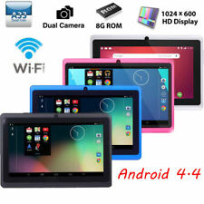 7'' Google Android 4.4 Quad Core Tablet PC 1+8GB Dual Camera WIFI Bluetooth New
