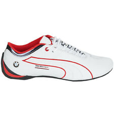 PUMA BMW MS FUTURE CAT M1 Leather Motorsport Men's Shoes Leather White Shoes
