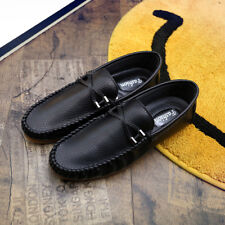 Leather casual Lightweight Comfy Sneakers Fashion Moccasins Driving Shoes312