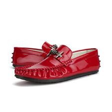 Fashion Patent leather Casual Comfy Lightweight New Moccasins Driving Shoes 697