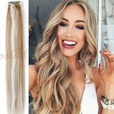 """7pcs 15"""" 18"""" 20"""" 22"""" Clip In Remy Real 100% Human Hair Extensions US STOCK"""