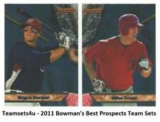 2011 Bowman's Best Prospects Baseball Set ** Pick Your Team **
