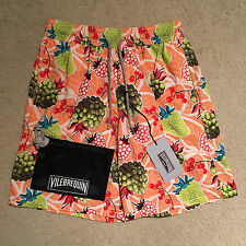 Vilebrequin Okoa Fruit Swim Shorts / Trunks - Pamplemousse Size M-XXL RRP: €180