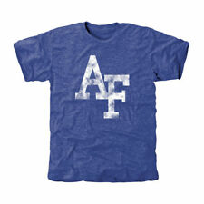 Air Force Falcons Classic Primary Tri-Blend T-Shirt - Royal Blue - College