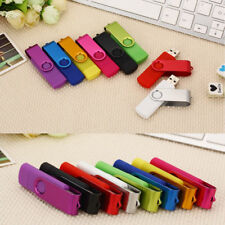 Swivel 8GB 16GB 32GB OTG Memory Stick USB Flash Drive Andriod 7 Colors Portable