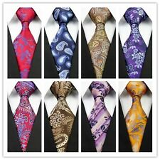 Purple White Blue Red Yellow Brown Floral New Classic Silk Men's Tie Necktietop!