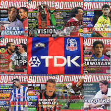 90 Minutes football magazine A4 player picture poster Crystal Palace - VARIOUS