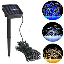 Outdoor New 100 LED Solar Powered String Light Garden Christmas Party Lamp