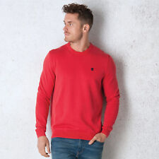 Men's Timberland Stonybrook Cotton Crew Knit In Red From Get The Label