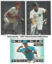 1997 Ultra Rookie Reflections Baseball Set ** Pick Your Team **