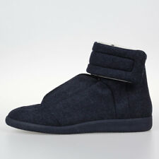 MAISON MARTIN MARGIELA MM22 Nw Man Leather Wool FUTURE Sneakers Shoes Made Italy