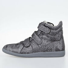 MAISON MARTIN MARGIELA MM22 New Men Fabric High Sneakers Shoes made in ITALY