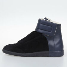 MAISON MARTIN MARGIELA MM22 New Men Leather High Sneakers Made in Italy