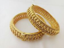 Indian fashion jewelry Antique Bangle Bollywood traditional gold plated Bangles