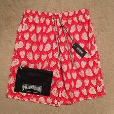 Vilebrequin Okoa Strawberry Swim Shorts / Trunks - Red RRP: £180.00