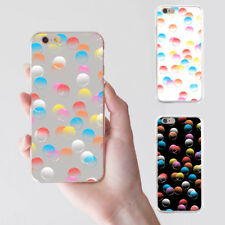 Colorful Bubbles Printed Phone Case for iPhone X 8 Samsung S8 Xiaomi 2 Pretty
