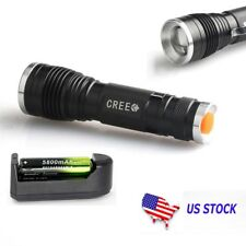 20000LM  XM-L T6 LED 18650 Zoomable Flashlight Wdjustable Focus Lamp Hot W )