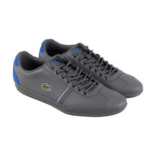 Lacoste Misano Sport 118 1 Cam Mens Gray Leather Sneakers Shoes