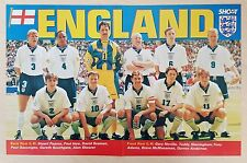 SHOOT / MATCH football magazine team / squad A3 picture ENGLAND - Various