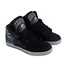Osiris Clone Mens Black Synthetic High Top Lace Up Sneakers Shoes