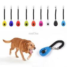 Pet Training Dog Clicker Adjustable Sound Key Chain with Wrist Strap RR6
