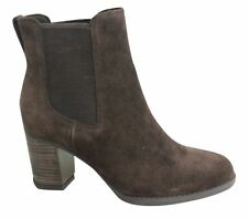 Timberland Womens Atlantic  Chocolate Suede Chelsea Boot  A19XH D5