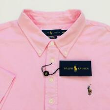 NWT Ralph Lauren Men's Carmel Pink Knit Oxford Classic Shirt Sz 2XL