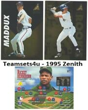 1995 Zenith Baseball Set ** Pick Your Team **