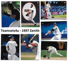 1997 Zenith Baseball Set ** Pick Your Team **