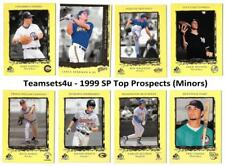 1999 SP Top Prospects (Minors) Baseball Set ** Pick Your Team **