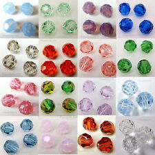 SWAROVSKI Crystal Element 5000 8mm Faceted Round Bead   Many Color  #2