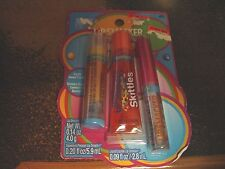 LIP SMACKER SKITTLES TROPICAL Banana Balm, Mango Squeezy,Starfruit Gloss SET