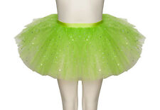 Lime Green Sparkly Sequin Dance Ballet Tutu Skirt Childs & Ladies Sizes By Katz