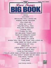 The Love Songs Big Book (The Big Book Series) ~ Perfect For Weddings Music Book