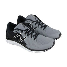New Balance Course Mens Gray Mesh & synthetic Athletic Lace Up Running Shoes
