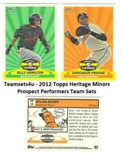 2012 Topps Heritage Minors Prospects Performers Baseball Set ** Pick Your Team *