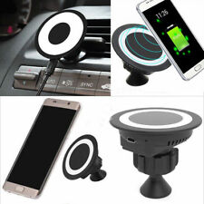 Qi Wireless Car Charger Dock Charging Pad for Samsung S8 S7 Note8 iPhone 8 8+ X