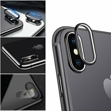For Apple iPhone X Screen Tempered Glass Film Back Rear Camera Lens Protector