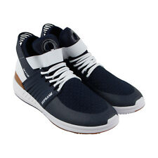 Supra Skytop V Mens Blue Suede Athletic Lace Up Training Shoes