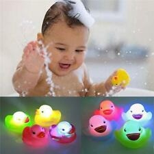 Kids Bathtime Bath Tub Baby Floating Duck Color Changing LED RGB Light Toy