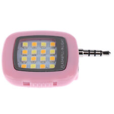 Selfie Fill Flash Light LED Camera 3.5mm For Android IOS iPhone Samsung
