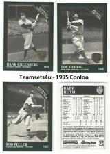 1995 Conlon Baseball Set ** Pick Your Team **