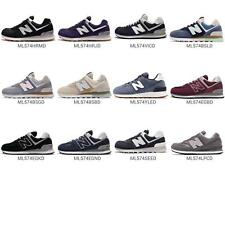 New Balance ML574 D 574 Suede Retro Mens Running Shoes Sneakers Pick 1