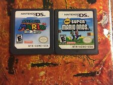 New Super Mario 64 DS+ Mario Bros Nintendo For 3DS NDSI DSI DS XL Game Card Case