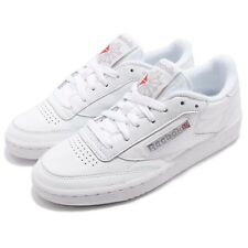 Reebok Classic Club C 85 Archive White Excellent Red Women Shoes Sneakers CN0907