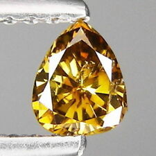 0.22ct Pretty Pear cut Fancy Brownish champagne Natural Loose diamonds Free Ship