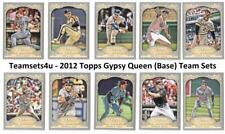 2012 Topps Gypsy Queen (Base) Baseball Set ** Pick Your Team **