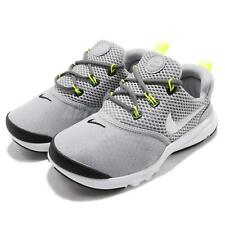 Nike Presto Fly PS Wolf Grey Preschool Kids Boy Running Shoes Sneaker 917955-009